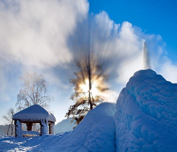 Причуды зимы. Михаил Казунин