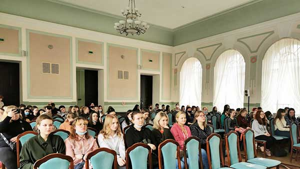 Участники встречи. Вологда