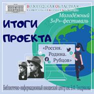 Итоги 3P-фестиваля «Россия. Родина. Рубцов»